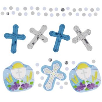 Blue First  Communion Confetti