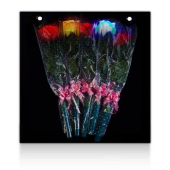L.E.D. Roses  Display Board