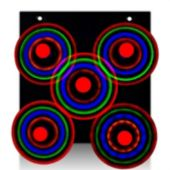 LED Galaxy Spinner Display Board