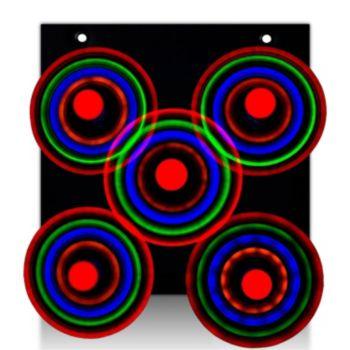 L.E.D. Galaxy Spinner  Display Board