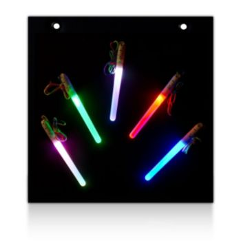 L.E.D. Light Stick  Display Board