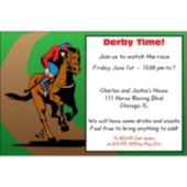 Derby Day Personalized Invitations