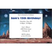 Moon Landing  Personalized Invitations