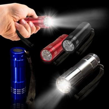 Assorted Color High-Quality LED Mini Flashlight - 3.75 Inch