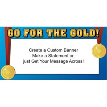 Medal Ceremony Custom Banner