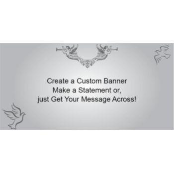 Religious Love Custom Banner