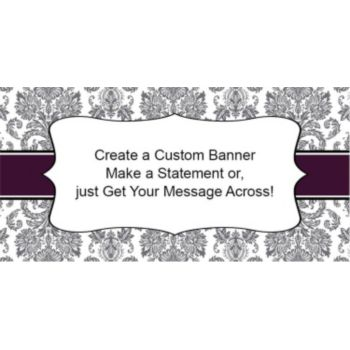 Sophisticated Elegance Custom Banner