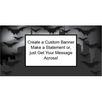 Gotham City Custom Banner