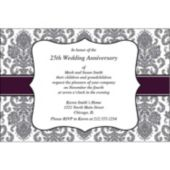 Sophisticated Elegance Personalized Invitations
