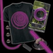 Purple Lumilite Elec Tron Ic Costume Kit