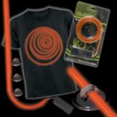 Orange Lumilite Elec Tron Ic Costume Kit