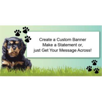 Big Dog Custom Banner