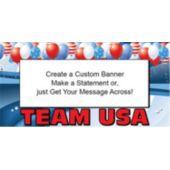 Usa Olympic Team Custom Banner