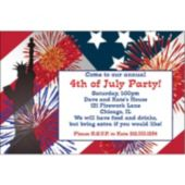 Fireworks 4th Personalized Invitations