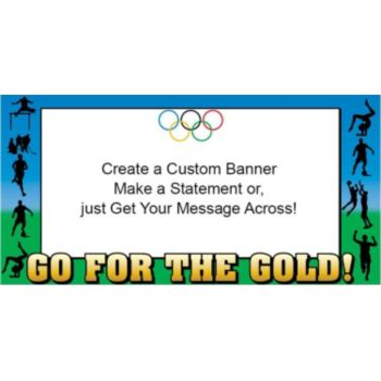 Olympic Summer Games Custom Banner (Variety of Sizes)