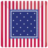 "Stars & Stripes 7"" Plates - 8 Pack"