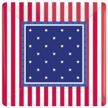 "Stars & Stripes  7"" Plates"