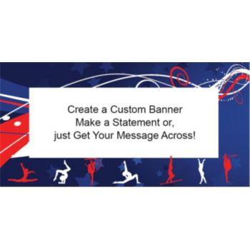 Olympics Team Sports Custom Banner (Variety of Sizes)