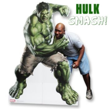 Incredible Hulk  Life Size Stand Up
