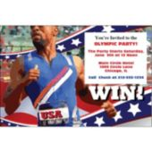 Olympic Win Personalized Invitations