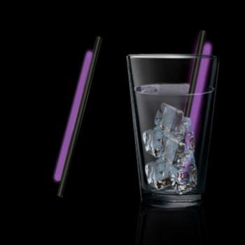 5'' Purple Glow Straws