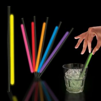Variety Pack Glow Straws - 5 Inch, 25 Pack