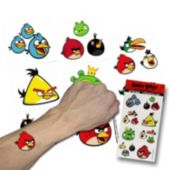 Angry Birds Tattoos - 12 Pack