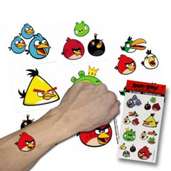 Angry Bird Tattoos