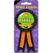 "Halloween 6"" Award Ribbon"