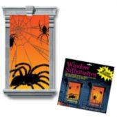 Spider Silhouette Window Props