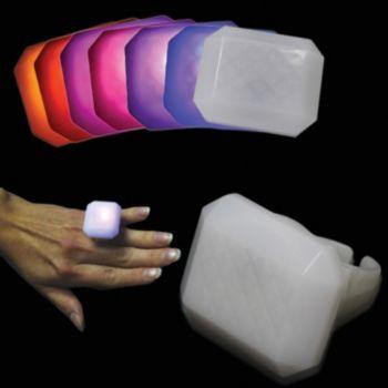 Multi-Color LED Rectangle Ring