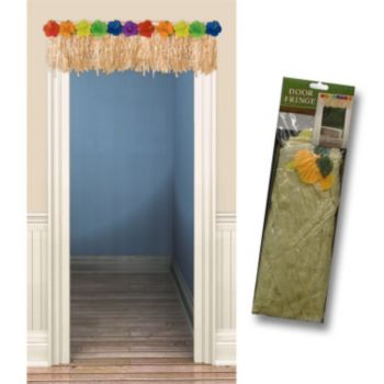 Luau Flower  Door Fringe