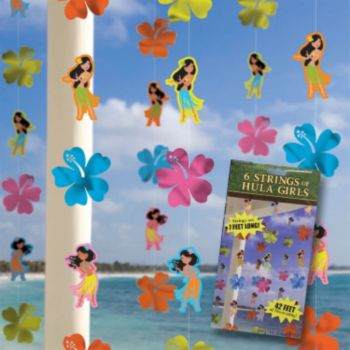 Hula Girls  String Decoration