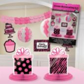 Fierce & Fabulous Birthday Decorating Kit