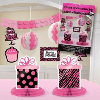 Fierce & Fabulous  Decorating Kit