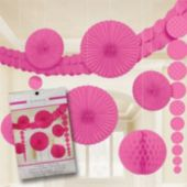 Pink Polka Dot Decorating Kit