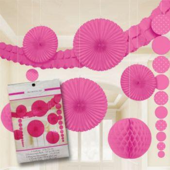 Pink Polka Dot  Decorating Kit