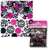 Zebra Pink Confetti Value Pack