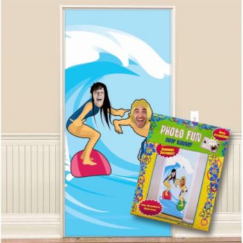 Surfer Photo Prop  Door Banner