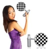 Checkered Flag Mist-R-Fan