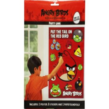 Angry Birds  Pin the Tail Game