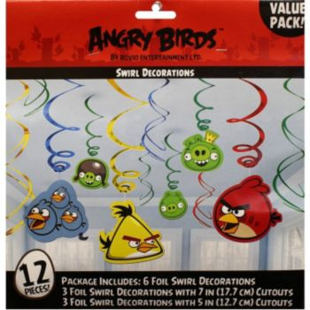 Angry Birds Swirls  Value Pack
