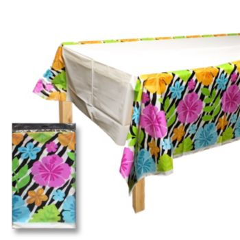 Wild Hibiscus  Plastic Table Cover