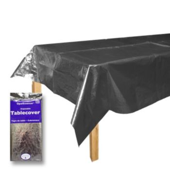 Silver Metallic  Table Cover