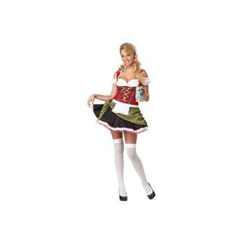 Bavarian Bar Maid Adult Plus Costume