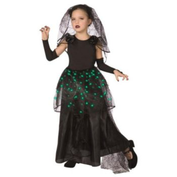 Gothic Bride Light-Up Tween Costume