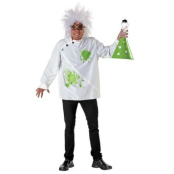 Mad Weird Scientist Adult Costume