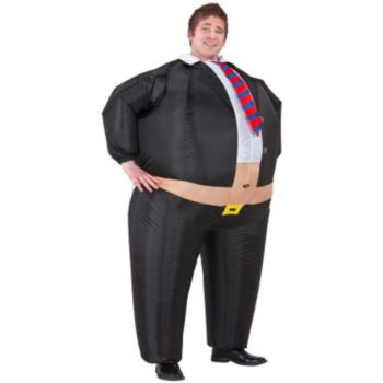 Big Boss Inflatable Belly Buster Adult Costume