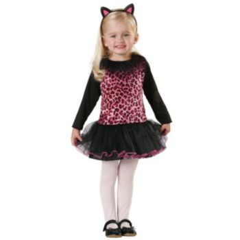Sweet Kitty Toddler Costume