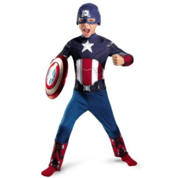 The Avengers Captain America Classic Toddler Costume